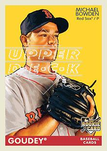 2009 Upper Deck Goudey #26 Michael Bowden (RC)