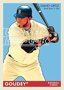 2009 Upper Deck Goudey #31 David Ortiz