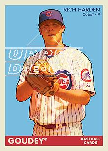 2009 Upper Deck Goudey #43 Rich Harden