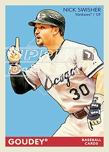 2009 Upper Deck Goudey #47 Nick Swisher