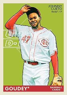 2009 Upper Deck Goudey #53 Johnny Cueto