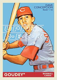 2009 Upper Deck Goudey #55 Dave Concepcion