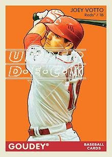 2009 Upper Deck Goudey #56 Joey Votto