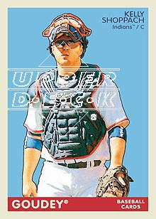 2009 Upper Deck Goudey #59 Kelly Shoppach front image