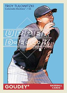 2009 Upper Deck Goudey #67 Troy Tulowitzki