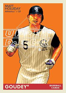 2009 Upper Deck Goudey #68 Matt Holliday