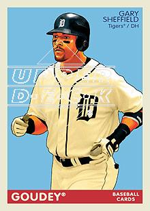 2009 Upper Deck Goudey #71 Gary Sheffield