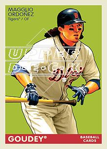 2009 Upper Deck Goudey #73 Magglio Ordonez