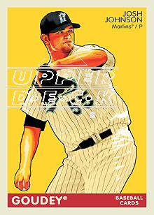 2009 Upper Deck Goudey #78 Josh Johnson