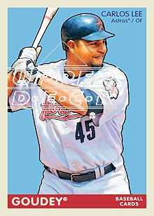 2009 Upper Deck Goudey #79 Carlos Lee