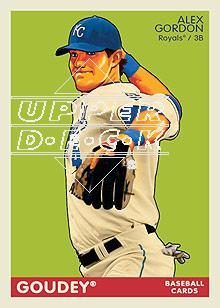 2009 Upper Deck Goudey #85 Alex Gordon