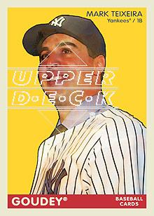 2009 Upper Deck Goudey #90 Mark Teixeira