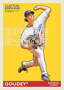 2009 Upper Deck Goudey #94 Clayton Kershaw