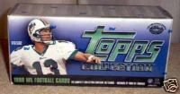1999 TOPPS FOOTBALL SEALED SET CASE - 12 FACTORY SEALED SETS
