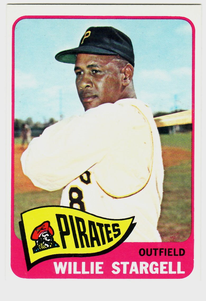 1965 Topps #377 Willie Stargell front image