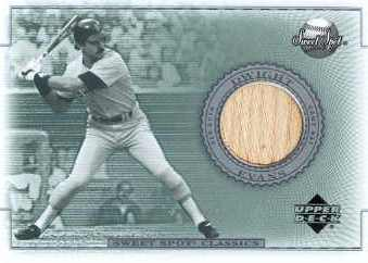2002 Sweet Spot Classics Game Bat #BDE Dwight Evans