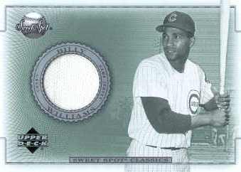 2002 Sweet Spot Classics Game Jersey #JBW Billy Williams