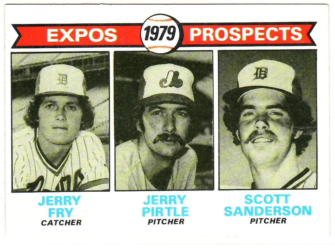 1979 Topps #720 Jerry Fry RC/Jerry Pirtle RC/Scott Sanderson RC