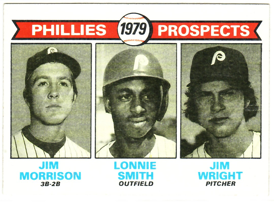 1979 Topps #722 Jim Morrison RC/Lonnie Smith RC/Jim Wright RC
