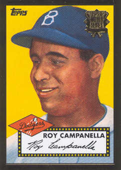 2002 Topps 1952 Reprints #52R1 Roy Campanella