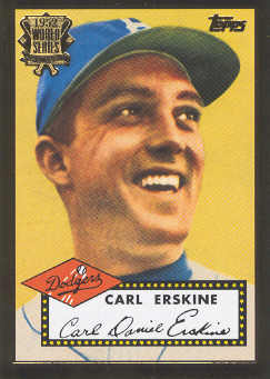 2002 Topps 1952 Reprints #52R3 Carl Erskine