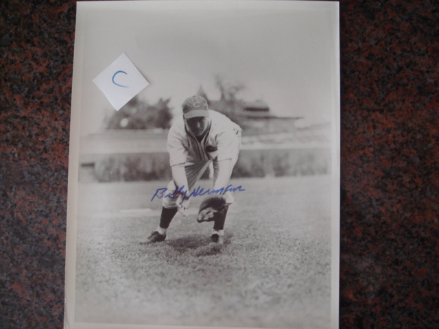 Billy Herman Autographed 8 X 10 Cubs Picture With COA pose C