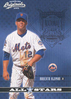 2002 Donruss Originals All-Stars #8 Roberto Alomar