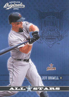 2002 Donruss Originals All-Stars #12 Jeff Bagwell