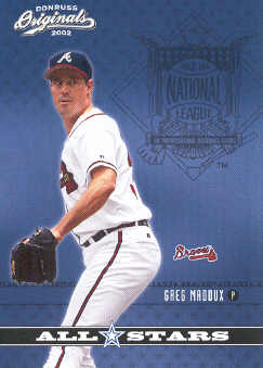 2002 Donruss Originals All-Stars #18 Greg Maddux