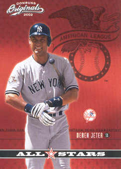 2002 Donruss Originals All-Stars #25 Derek Jeter