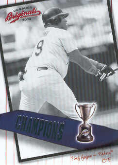 2002 Donruss Originals Champions #6 Tony Gwynn