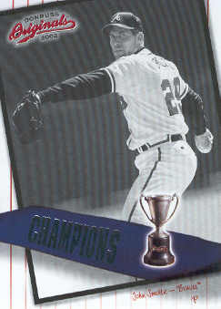 2002 Donruss Originals Champions #7 John Smoltz