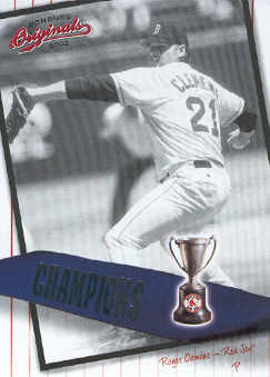2002 Donruss Originals Champions #8 Roger Clemens