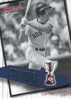 2002 Donruss Originals Champions #25 Wade Boggs
