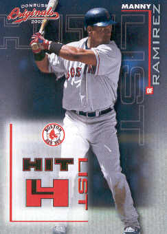 2002 Donruss Originals Hit List #18 Manny Ramirez