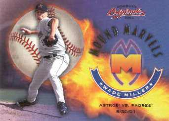 2002 Donruss Originals Mound Marvels #5 Wade Miller