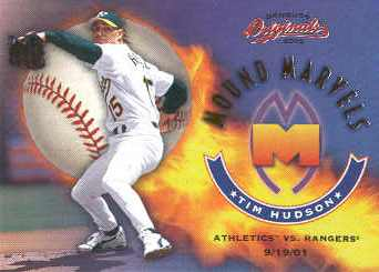2002 Donruss Originals Mound Marvels #6 Tim Hudson