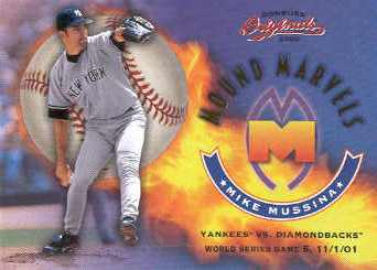 2002 Donruss Originals Mound Marvels #7 Mike Mussina