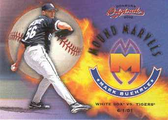 2002 Donruss Originals Mound Marvels #13 Mark Buehrle