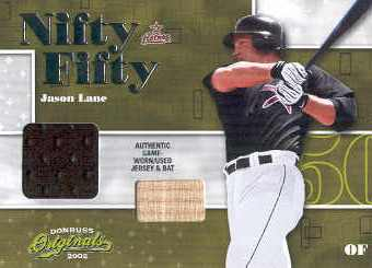2002 Donruss Originals Nifty Fifty Combos #26 Jason Lane