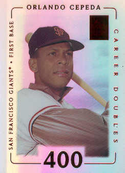 2002 Topps Tribute Lasting Impressions #24 Orlando Cepeda/74