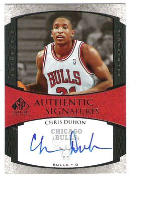 2005-06 SP Signature Edition Signatures #CD Chris Duhon