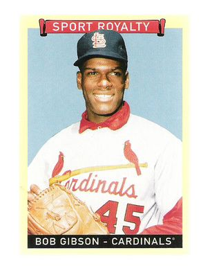 2008 Upper Deck Goudey #318 Bob Gibson SR SP