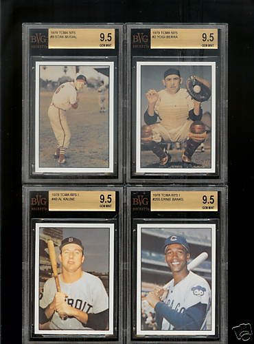 1979 TCMA 50's #9 Stan Musial (Graded BVG 9.5 Gem Mint)