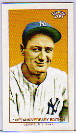 2009 Topps 206 Hawaii Trade Conference #2 Lou Gehrig