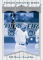 2003 Upper Deck Yankees Signature #6 Billy Martin