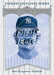 2003 Upper Deck Yankees Signature #19 Dave Kingman