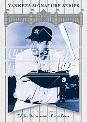 2003 Upper Deck Yankees Signature #29 Eddie Robinson