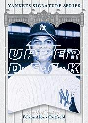 2003 Upper Deck Yankees Signature #30 Felipe Alou