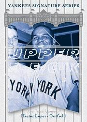 2003 Upper Deck Yankees Signature #35 Hector Lopez